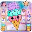 Galaxy Tasty Ice Cream Keyboard Theme