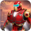 Immortal Iron hero City Rescue Flying Robot Games