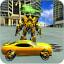 Super Mech Warrior Robot Muscle Car Transformer