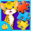Jigsaw Safari Puzzle For Kids