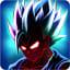 Saiyan Goku fighting: Dragon Fight Shadow