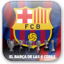 FC Barcelona 6 Copas Wallpapers