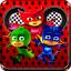Cat Pj Hill Hero: Super Mask Climb Racing