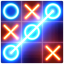 Tic Tac Toe glow  Free Puzzle Game
