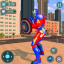 Super Captain Robot Flying City Survival Mission