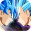 Super Saiyan God Goku v Ultra Instinct Blue Vegeta