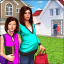 Pregnant Mom Virtual Family Neighbor Helper