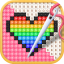 Cross Stitch  Draw Sandbox Pixel Art