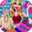 Shopping Mall Girl Cashier Game 2  Cash Register