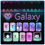 Galaxy panda keyboard