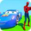 Superhero Color Cars Supercity sim