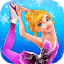 Ice Skating Ballerina Dress up  Makeup Girl Game