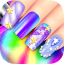 Rainbow Unicorn Nail Beauty Artist Salon