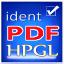 identPDF - HPGL to PDF Converter Lite