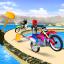 Offroad Moto Bike Impossible Stunt Racing