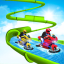 Water Slide Bike Stunt  Tricky Bike Water Race