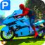 Superheroes Bike Parking Super Stunt Racing Games