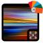 Black Theme Xperia 1 live wallpaper