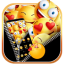 Smiley Emoji Zipper Themes HD Wallpapers 3D icons