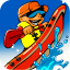 Rowing Canoe - River Race