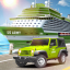 US Army Car Transport Cruise Ship Simulator Games