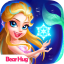 The Little Princess Mermaid Dress Up Story Game