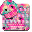 Hot Pink Cupcake Keyboard Theme
