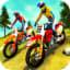 Uphill Offroad Motorbike Rider