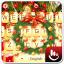 Golden Christmas Keyboard Theme