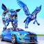 US Police Transform Robot Car Unicorn Flying Horse
