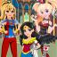 Superhero Dress Up - Harley Stylish Girls