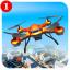 City Drone Attack-Rescue Mission  Flight Game