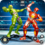Robot Fighting Games - New Steel Robot Ring Battle