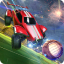 Rocket Car Football Soccer League Champion