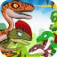 dinosaur battle fight park war