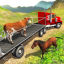 Offroad Farm Animal Truck Driving Game 2018