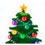 Animated Christmas Tree for Desktop