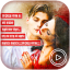 Love Video Maker With Music : Love Lyrics