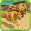 Savanna Animal Racing 3D