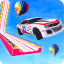 Grand Mega Ramp Car Stunts Game 2021:Car parking