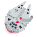 Millenium Falcon attack! The Game