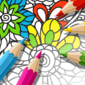Adult Coloring Book With Multiple Templates & Colors