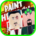 Town Paint In Red Simulation Game walkthrough