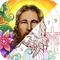 Bible Coloring - Paint by Number Free Bible Games