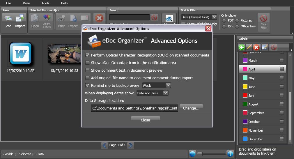 eDoc Organizer Download