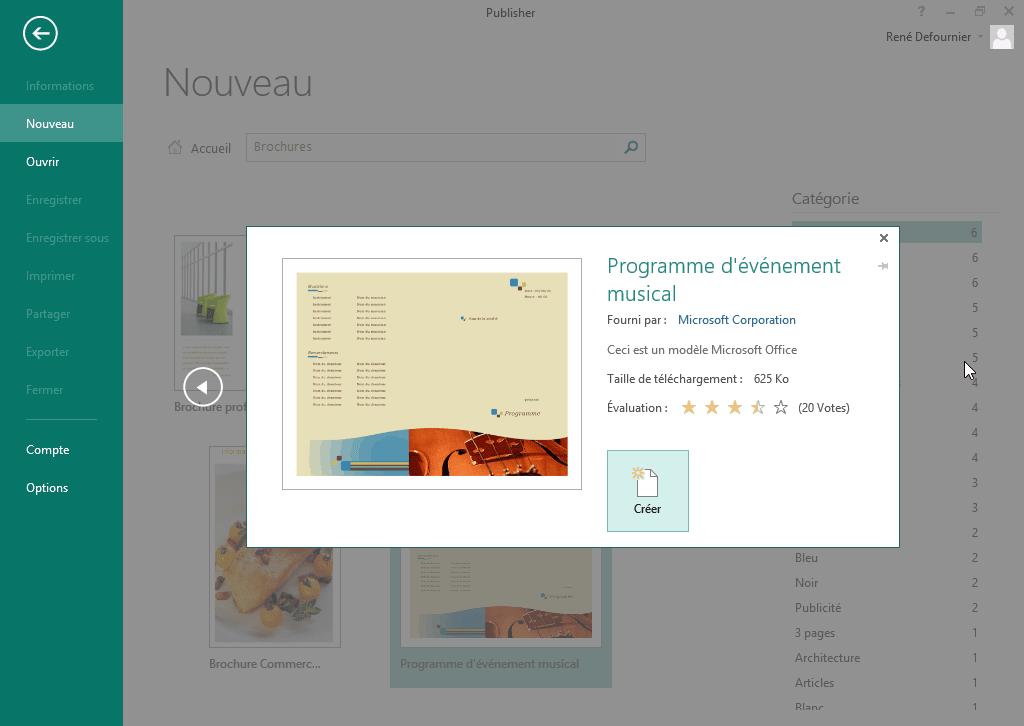 Très Microsoft Publisher 2013 - Télécharger WY83