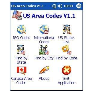 US Area Codes para Pocket PC Descargar