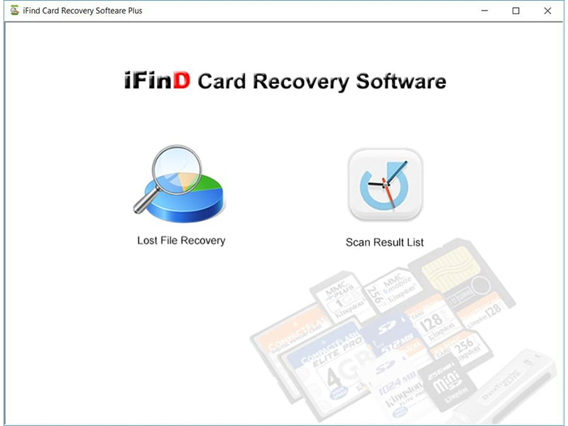 iFind Card Recovery