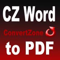 CZ Word to PDF