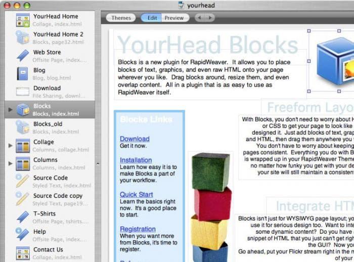 YourHead Blocks